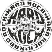 Stamp hard rock — Stock Vector