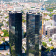 Frankfurt-on-Main view from skyscraper — Stock Photo