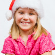 Sweet little Santa — Stock Photo