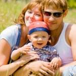 幸せな家族 — ストック写真
