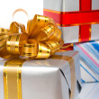 Stock Photo: Gift boxes