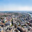 Royalty-Free Stock Photo: Frankfurt-on-Main view from skyscraper