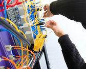Rack de servidores — Foto de Stock