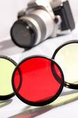 Slr-fotokamera — Stockfoto