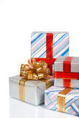 Giftboxes — Stockfoto