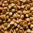 Buckwheat grains texture — Stock Photo