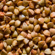 Stock Photo: Buckwheat grains texture