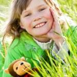 grüne Feder — Stockfoto #10174913