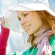 White hat fit all — Stock Photo