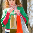 Green shopping begins here — Stock Photo