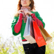 Green shopping begins here — Stock Photo #10174994