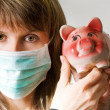 Stock Photo: Swine flu