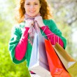 Green shopping begins here — Stock Photo #10175010