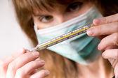 Groźba epidemii — Zdjęcie stockowe