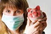 Swine flu — Stock Photo