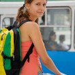 Hiking a trolley bus — Stock Photo #10185121