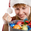 Stock Photo: Santa's bag