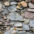 Aged stone wall background — Stock fotografie
