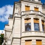 Traditional european mansion — Stock Photo