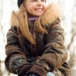 Pretty smiling little girl — Stock Photo #10185588