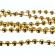 Golden color beads — Stock Photo #10185954