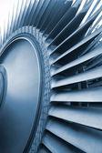 турбина генератора электростанции — Стоковое фото