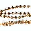 Golden color beads — Stock Photo #10370542