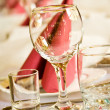Arranged celebration table — Stock Photo #10370723