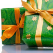 Wrapped gift boxes — Stock Photo #10371085