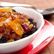 Sweet dish with rice and candied fruits — Stock Photo #10371102