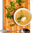 soup plate — Stock Photo