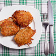 Potato cakes — Foto Stock