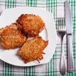 gâteaux de pommes de terre — Photo
