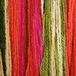 Stock Photo: Multicoloured yarn background
