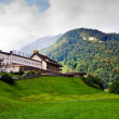 Hotel in Swiss Alps — Stock Photo
