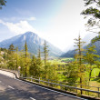Road in Swiss Alps — Stock Photo #10371686