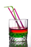 Rainbow drink — Stock Photo
