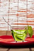 Grönt te — Stockfoto