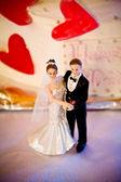 Bolo de casamento — Fotografia Stock