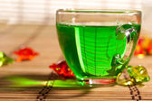 Green tea — Stock Photo