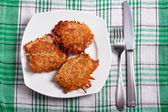 Potato cakes — Stock fotografie