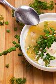Soup plate — Stock Photo