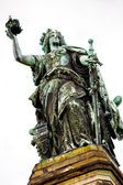 The Niederwald monument Germania — Stock Photo