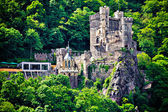 Medieval german castle — Stock Photo