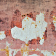 Chipped paint rusty metal — Stock fotografie