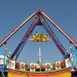 Swing in amusement park — Stockfoto