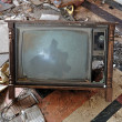 Vintage tv set - Foto Stock