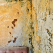 Stock Photo: Peeling grunge wall background texture