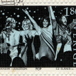 Abba postage stamp — Stock Photo