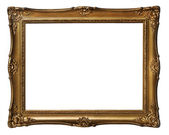 Vintage golden frame — Stockfoto